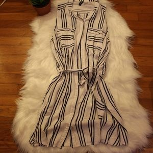 Divided by H&M Striped Sleeveless Dress